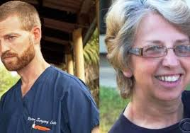 DR KENT BRANTLY AND NANCY WHITBOL ARE SHOWING SIGNED OF RECOVERY AFTER EBOLA TREATMENT