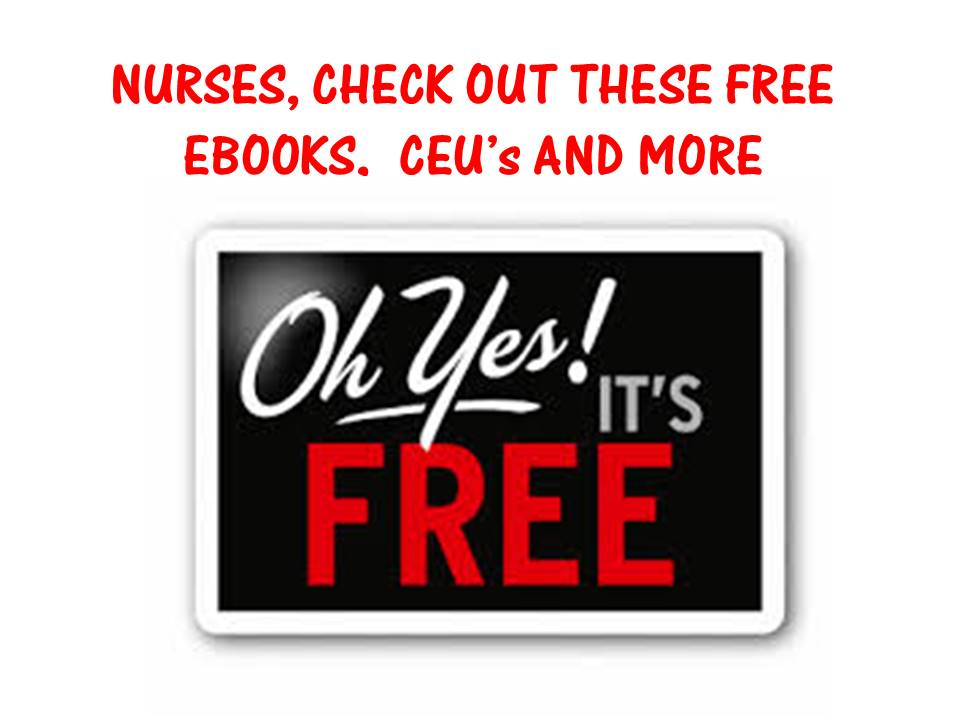FREE nursing ebooks, free nursing supplies, free nursing ebooks, free medical dosage calculation