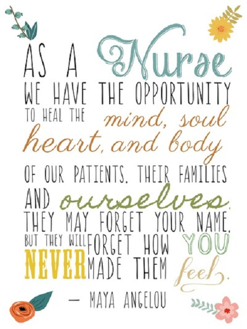 Inspirational quotes for nurses