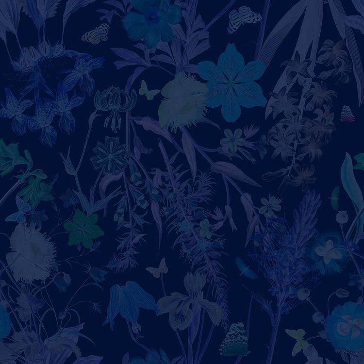 FLORAL FANTASY BLUE