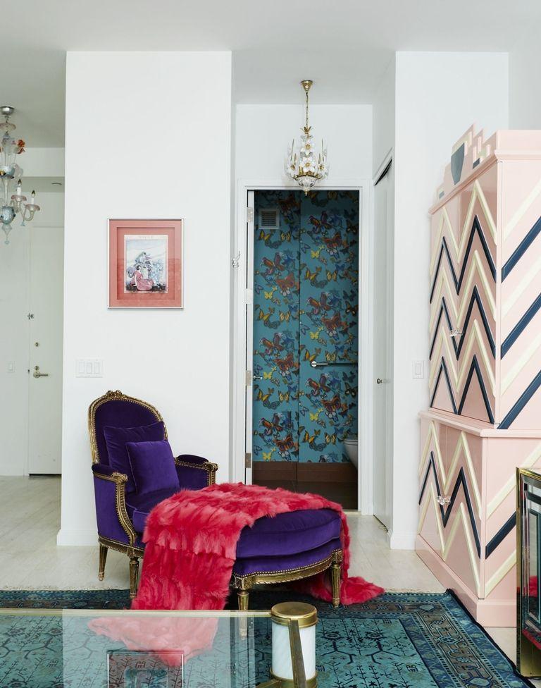Bathroom from her Soho II project