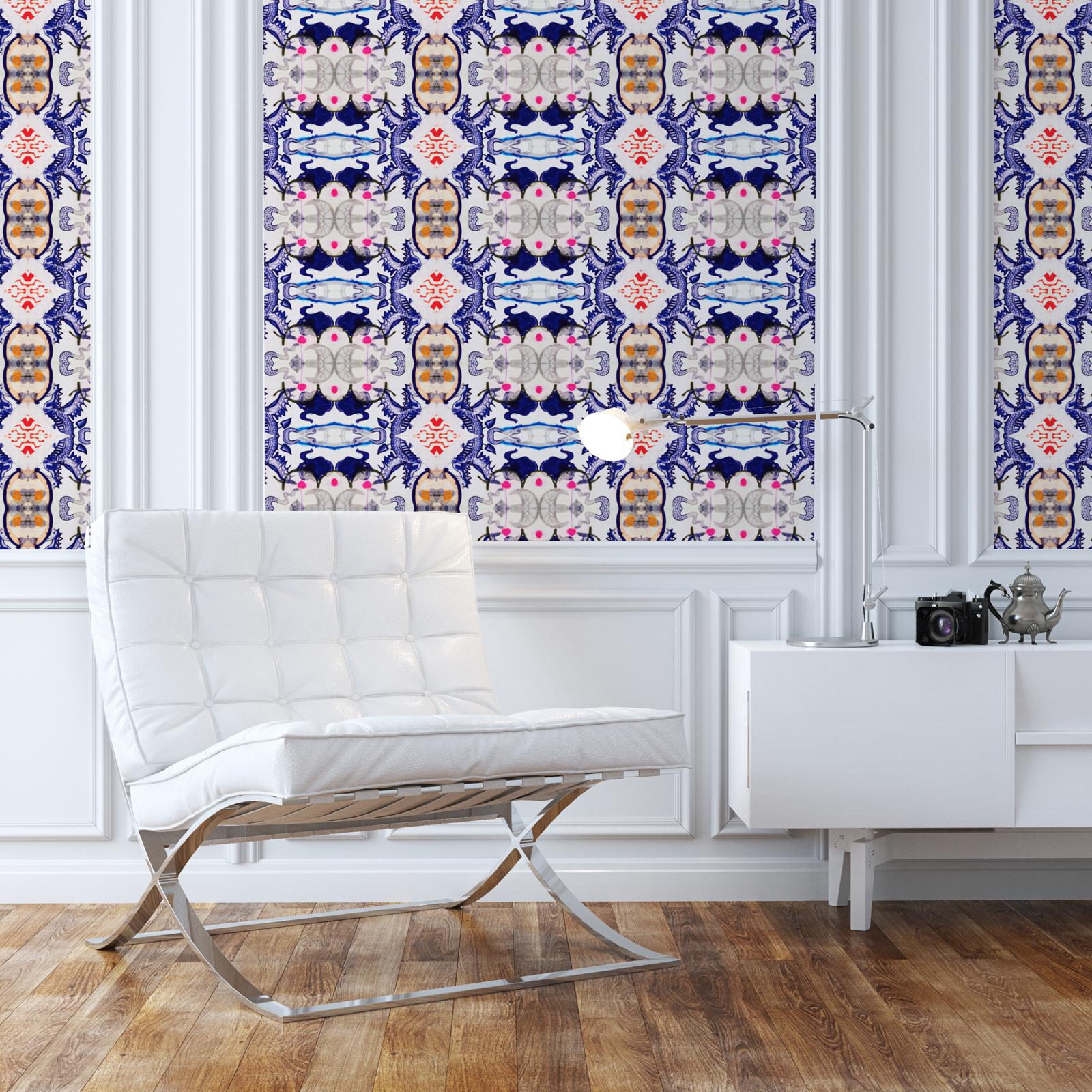 How To Hang Wallpaper Kristi Kohut Studio Kristi Kohut