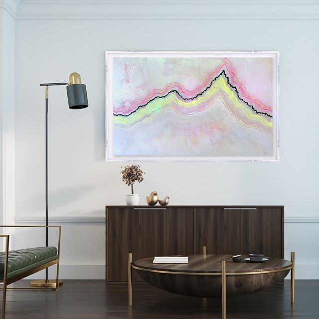Pieces from my new original Symphonic Atlas series are selling fast. Don't miss out of this bright, beautiful piece. ⠀ ⠀ Symphonic Atlas #45 offers a glimpse into the celestial beauty of nature. You can shop this and all original art at KristiKohut.studio or via the link in my bio.⠀ ⠀ ⠀ ⠀ ⠀ ⠀ ⠀ #kristikohut #contemporaryart #artcollector #lucite #acrylicframe #interiors #designdreams #interiordesign #decor #homedecor #interiorinspo #finditstyleit #currentdesignsituation #livelovehome #shopart