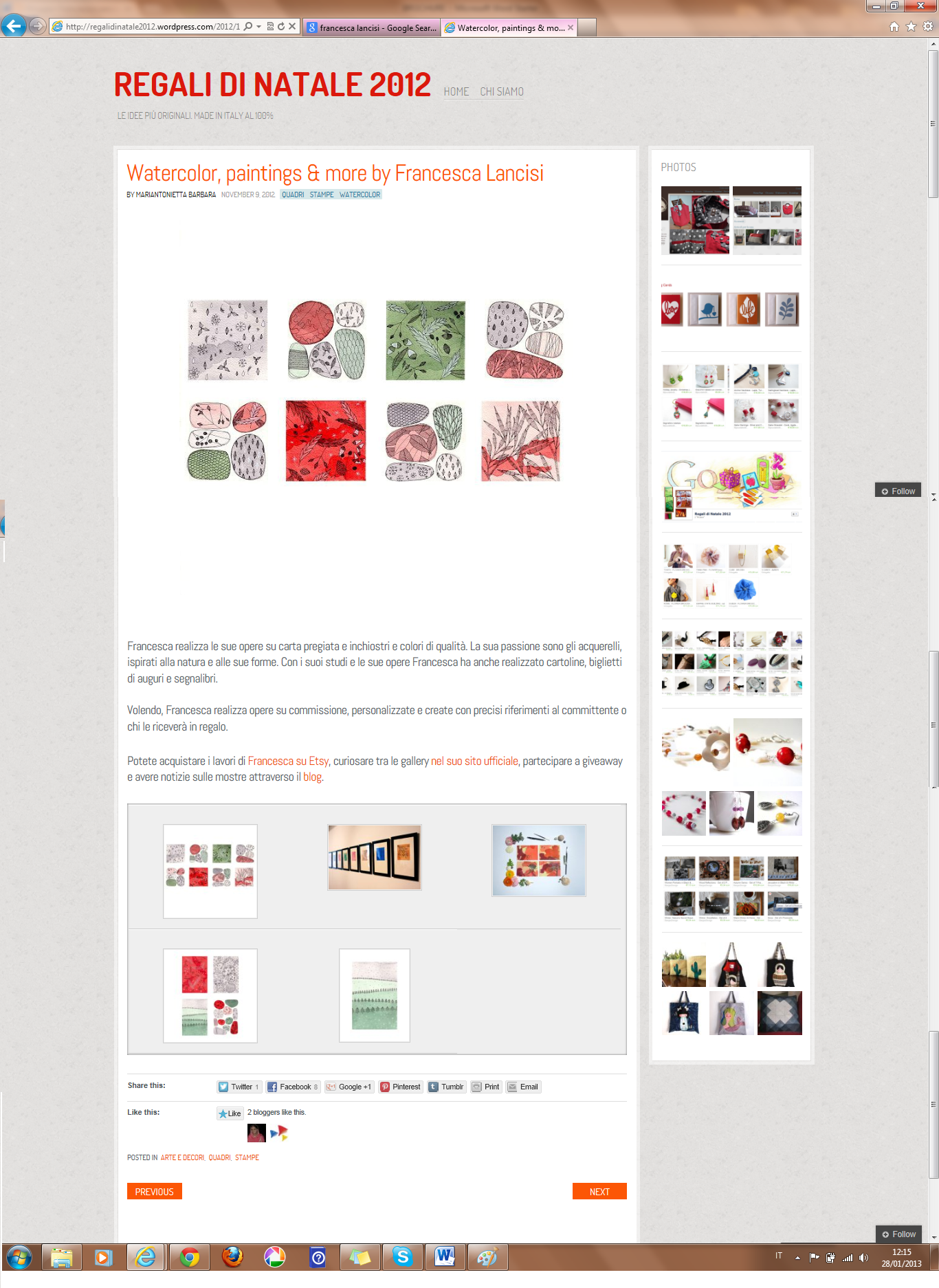REGALI DI NATALE 2012 Directory per artigiane made in Italy.png