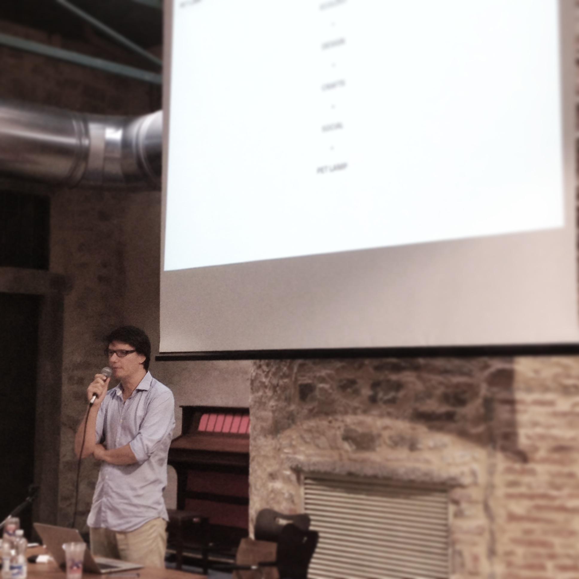 Talk: Alvaro de Ocon