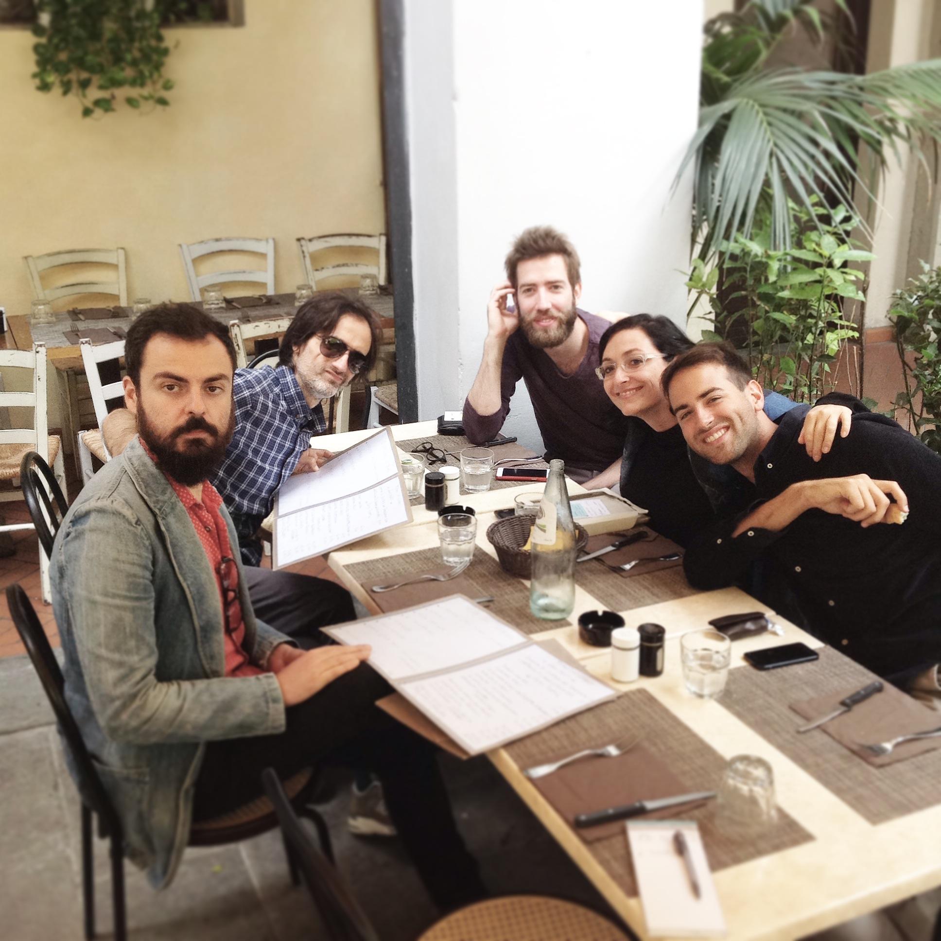 Staff: Roberto, Manuel, Francesca, Oliviero, Giacomo