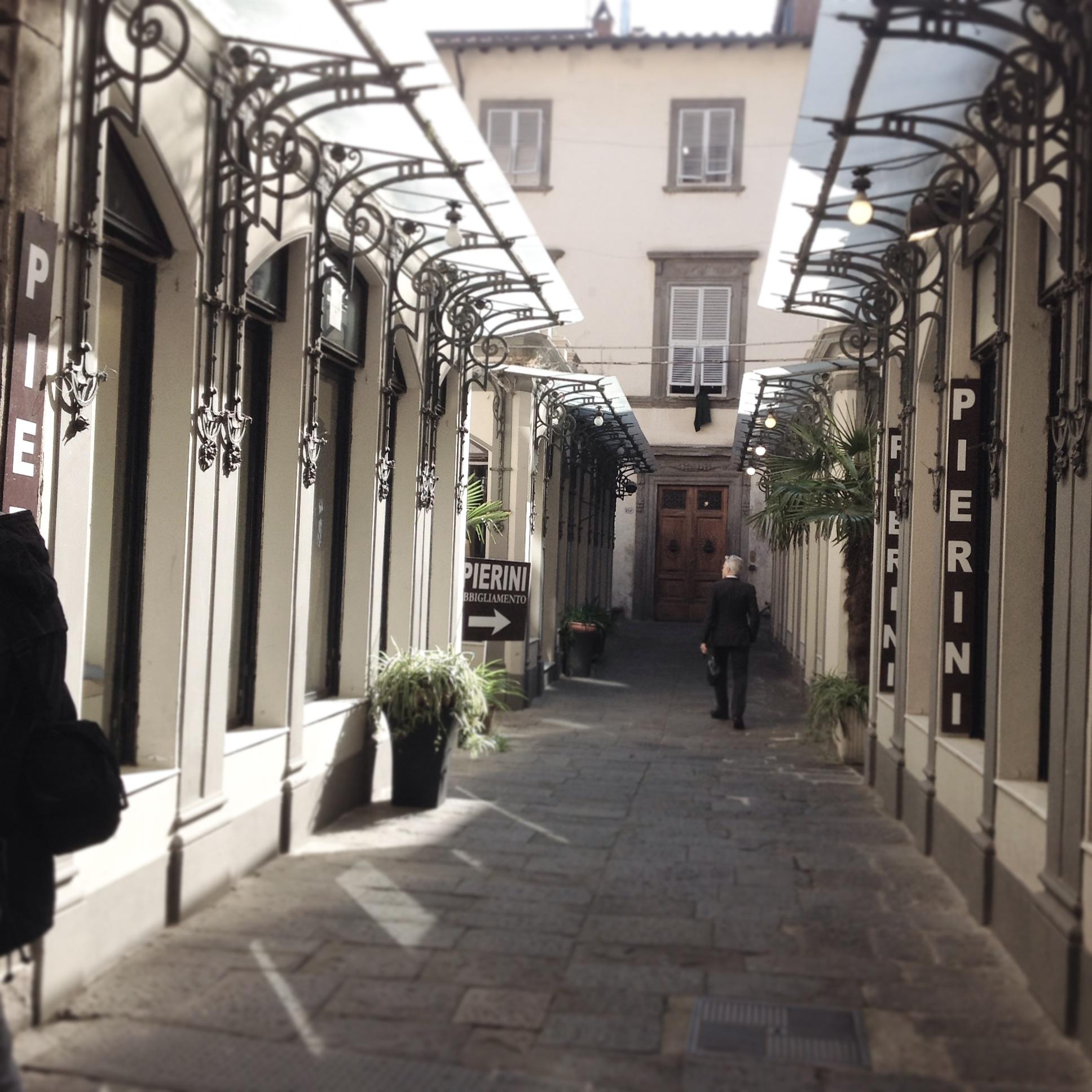 Galleria via Fillungo
