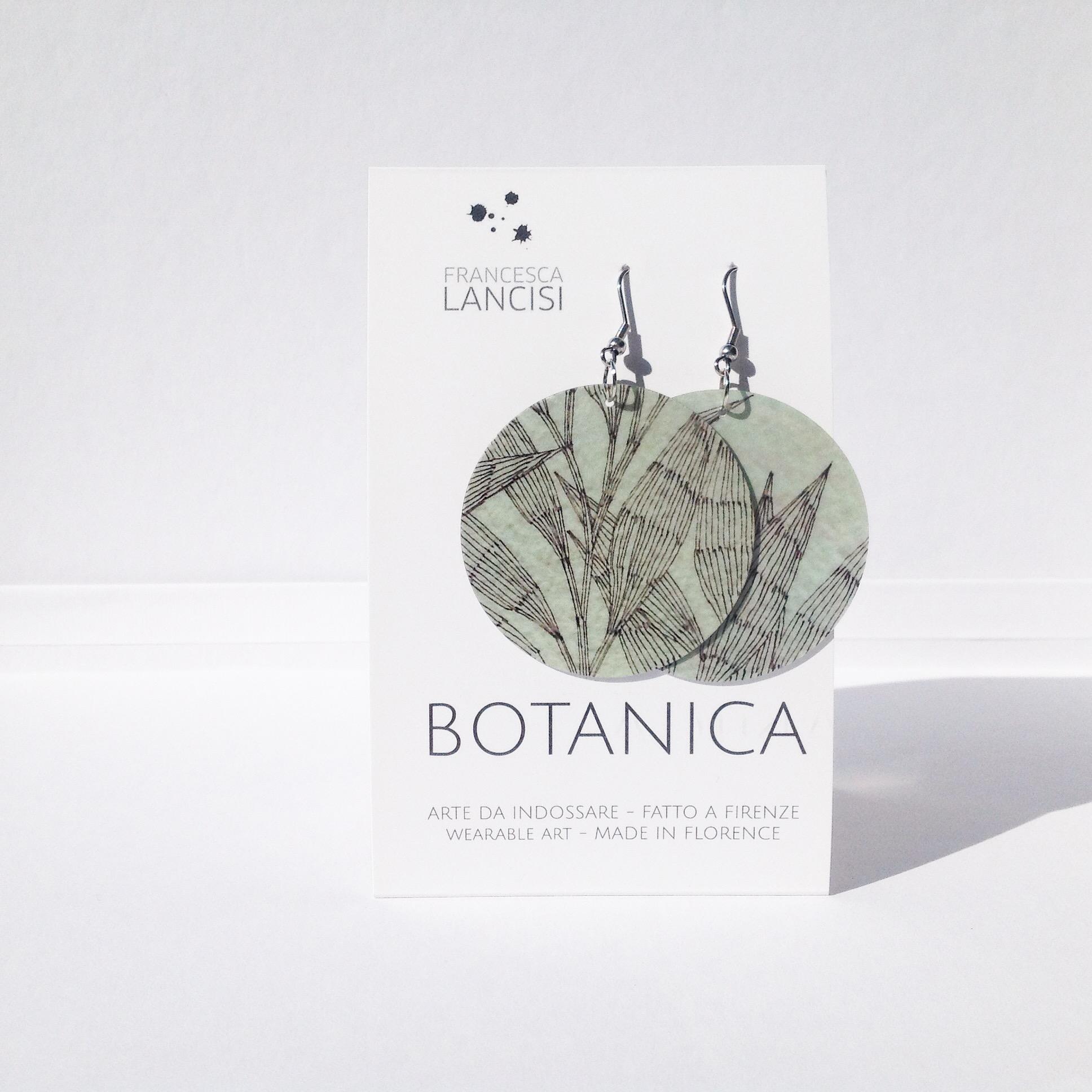 BOTANICA EARRINGS - ORECCHINI BOTANICA