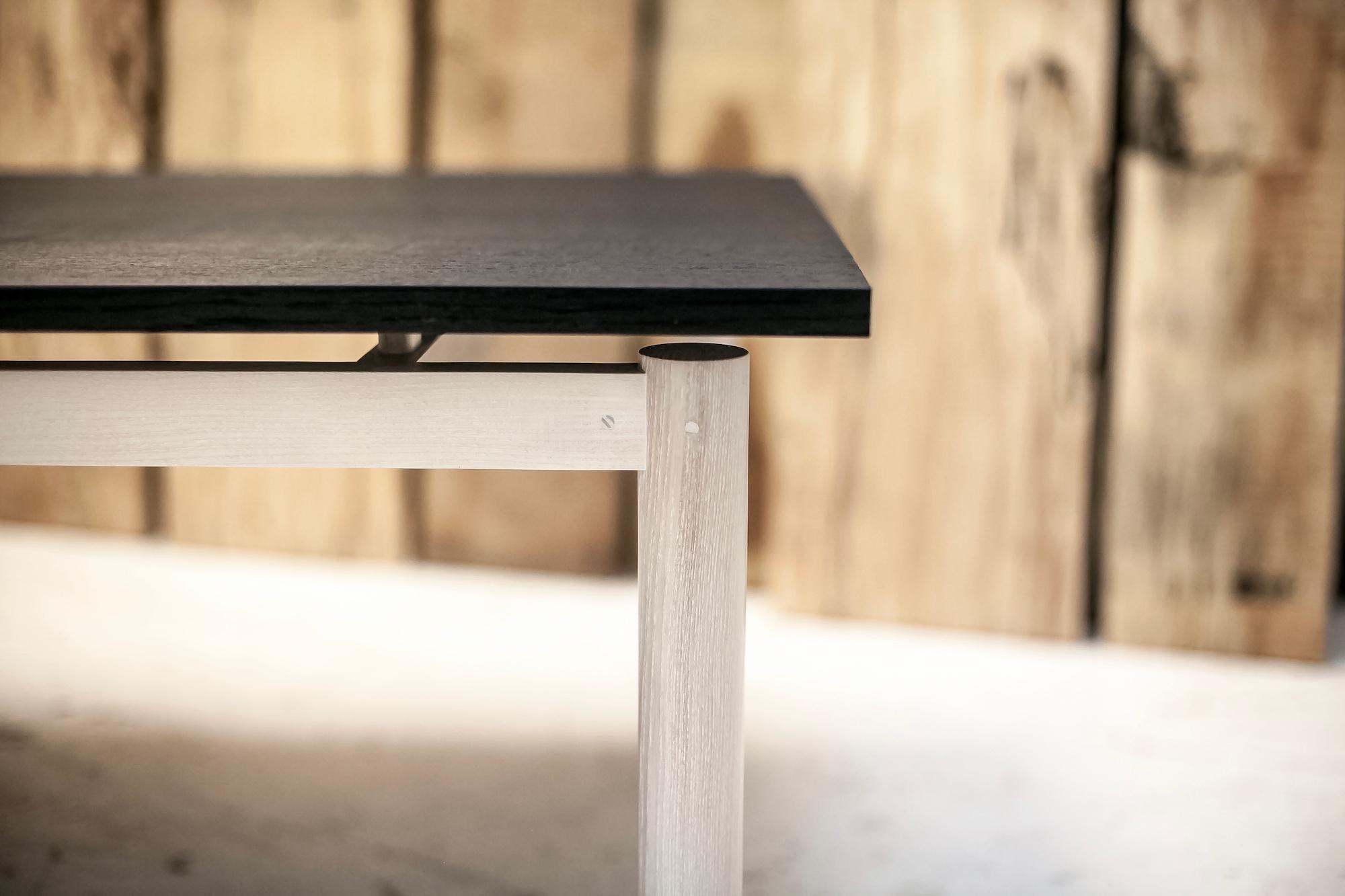 Floating ebonised oak coffee table top.jpg