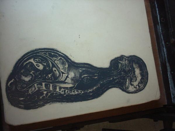 Lithographic stone, 2007