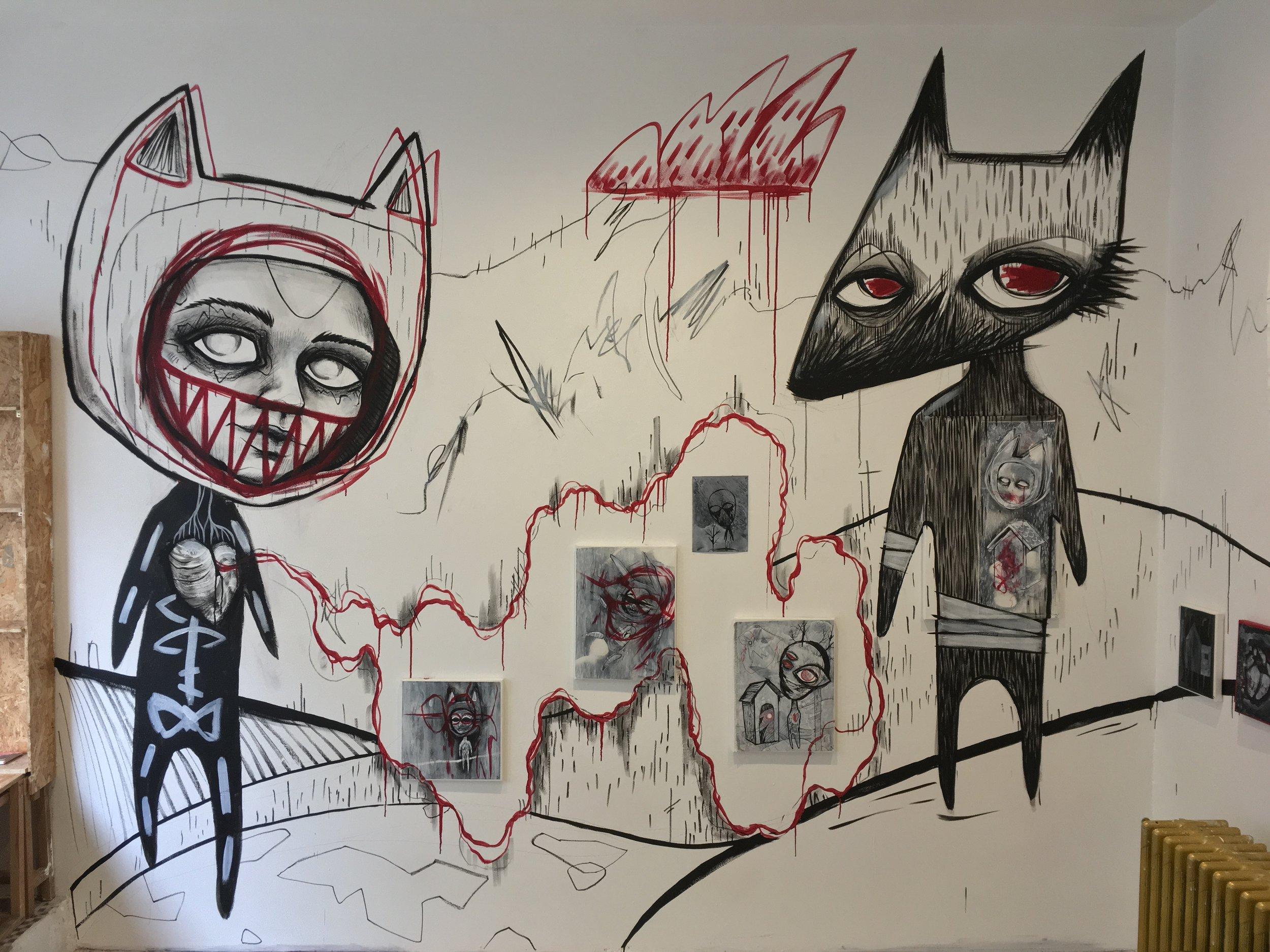 Masks, 2018, Galerie Tonpiquant, Brussels, Belgium