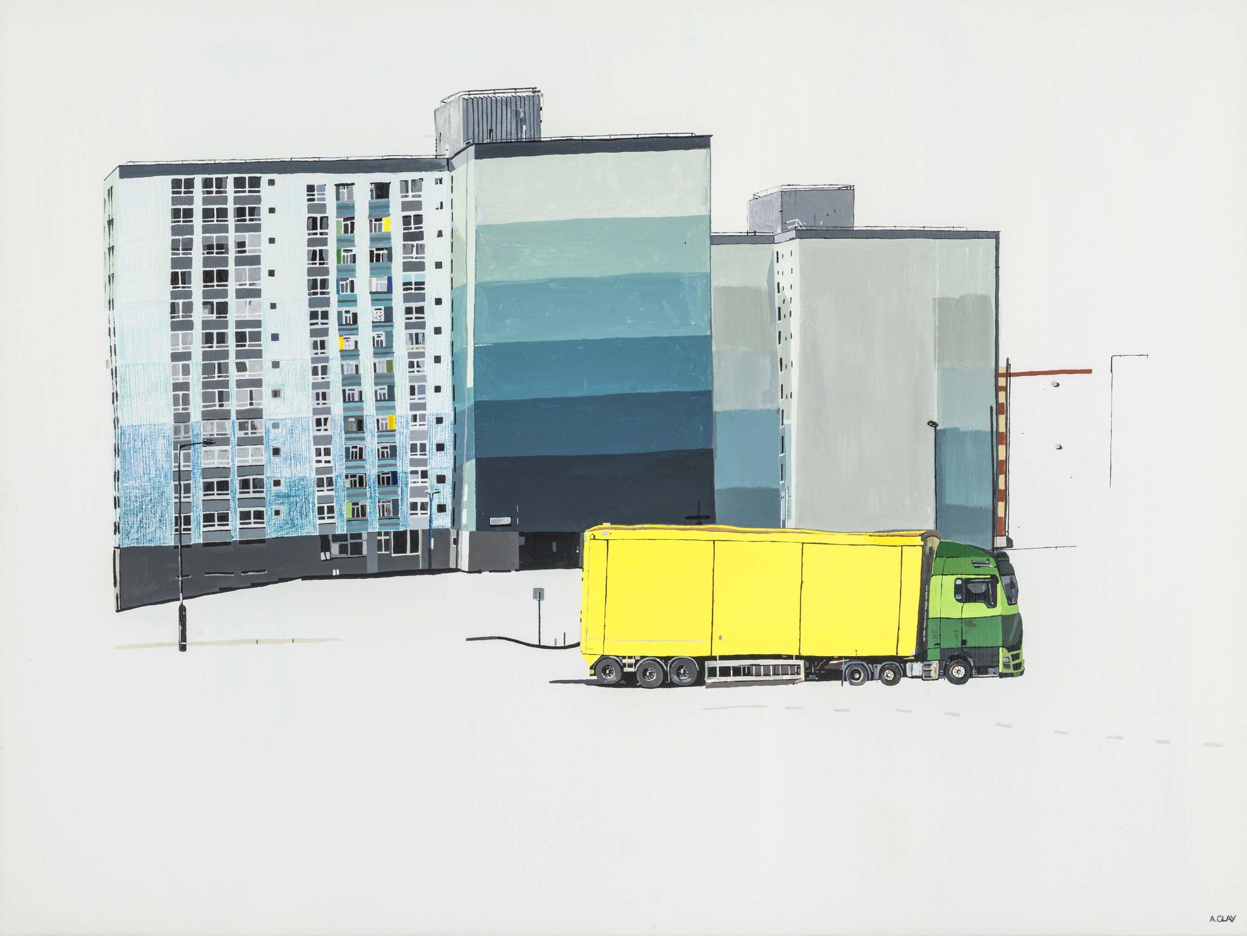 Yellow Lorry, 2018