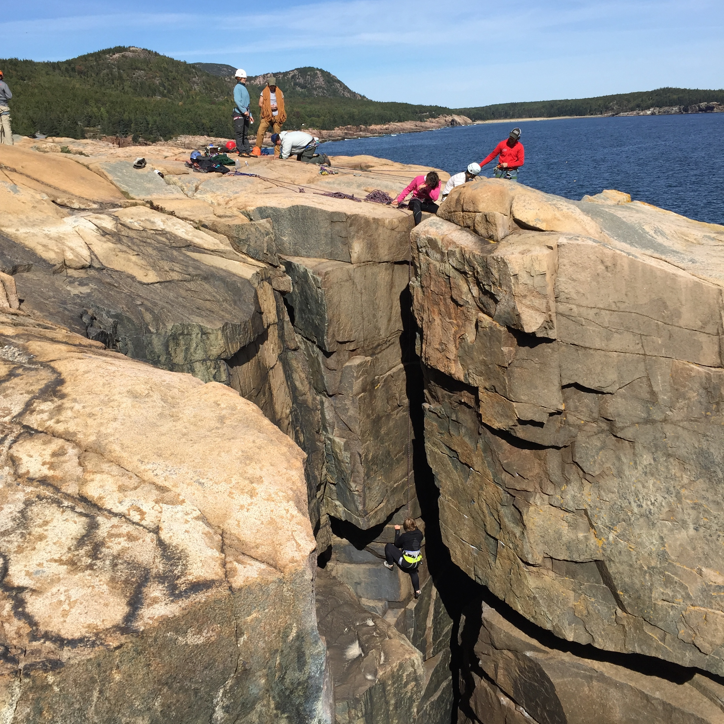 Otter Cliffs, Sand Beach, The Beehive and The Atlantic Ocean - this is Acadia National Park!