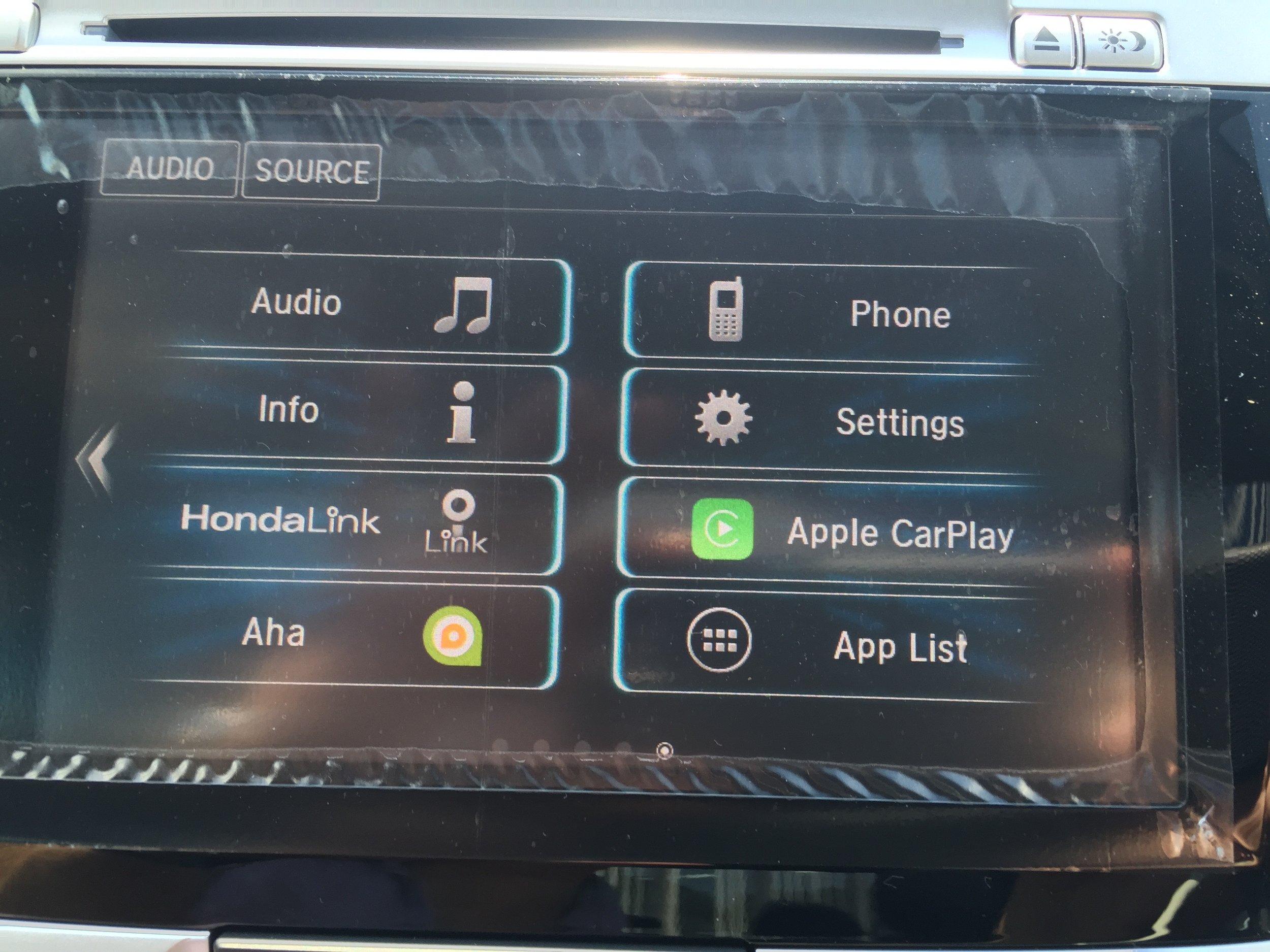 Honda's Car UI - Where are the AM/FM buttons?