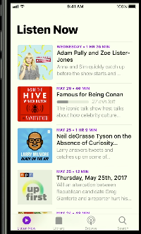 The new Podcasts App will look more like Apple's Music app