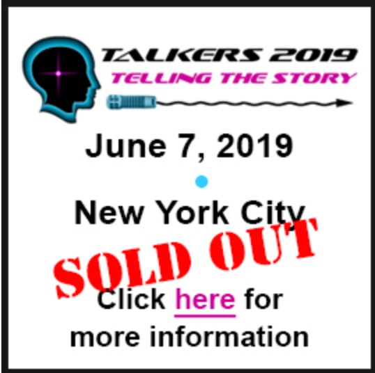 I will be talking about podcasts at Talkers 2019