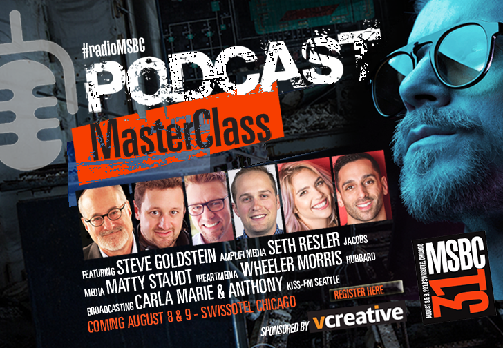 I will be moderating a terrific session at Morning Show Bootcamp about radio's roll with podcasts