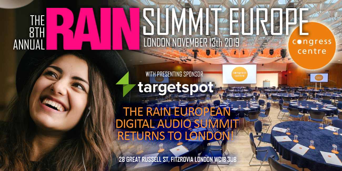 I will be speaking at The RAIN SUMMIT in London — '5 things you need to know about Smart Speakers""