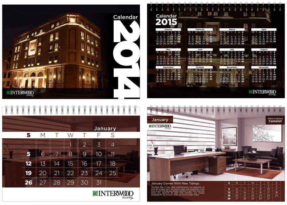 Interwood Calendar 2014