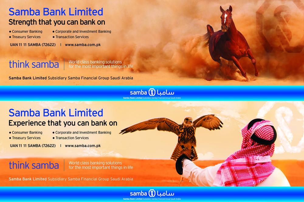 Samba Bank 2014 Campaign