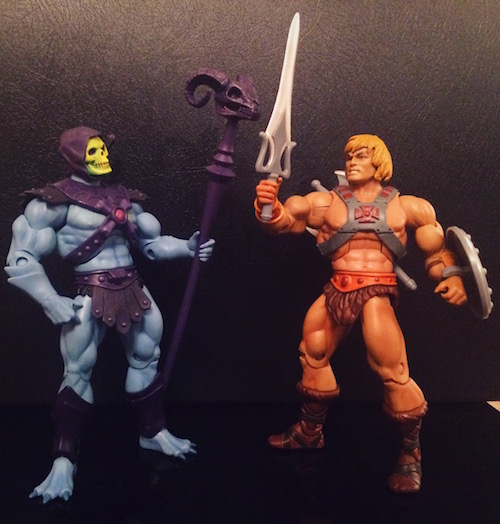 He-Man and Skeletor (Masters of the Universe Classics)