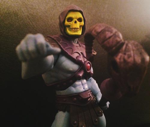 Skeletor and the Havoc Staff
