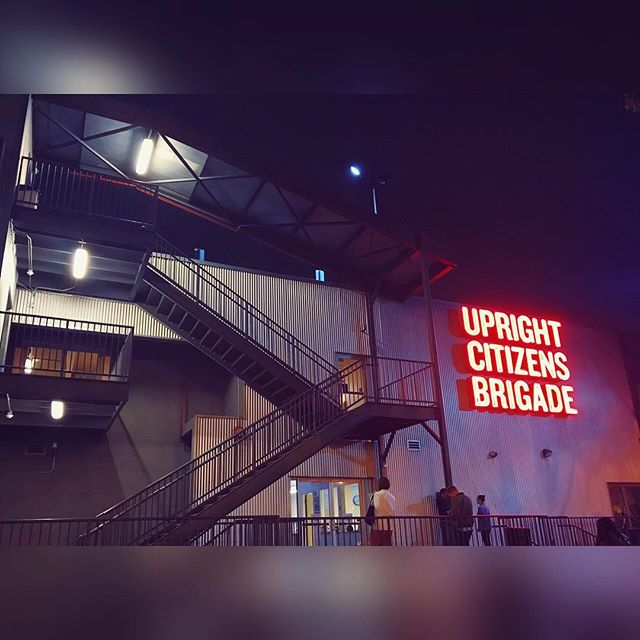 Yeti & Queen George at Upright Citizens Brigade Sunset. Los Angeles, April 2019. #uprightcitizensbrigade #ucb #ucbtla #yeti #queengeorge #comedy #improv #humor #live #livestandup #standup #comedyshow #venue #hollywood #sunset #losangeles #california #explorer #writer #director
