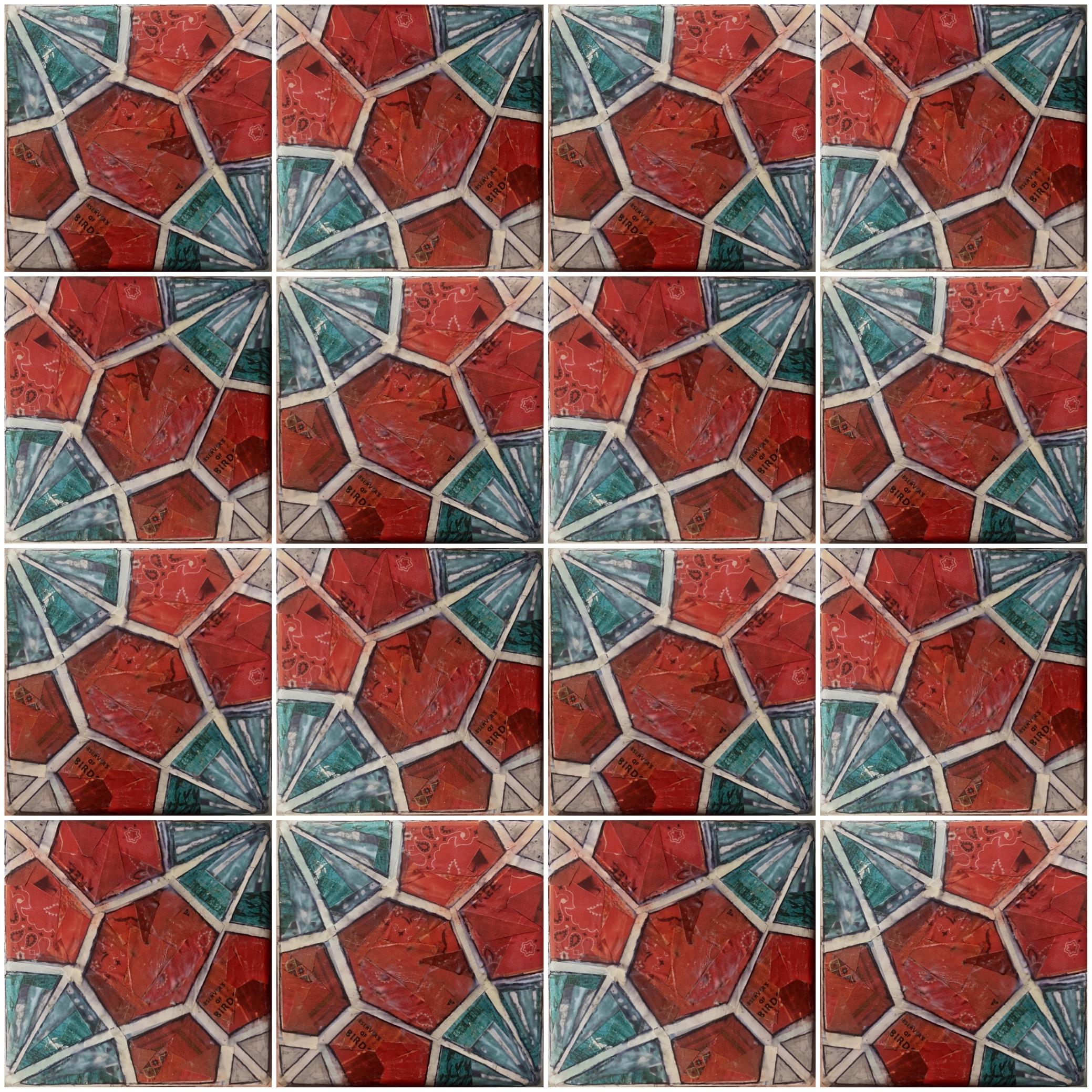 red turq floral tile.JPG