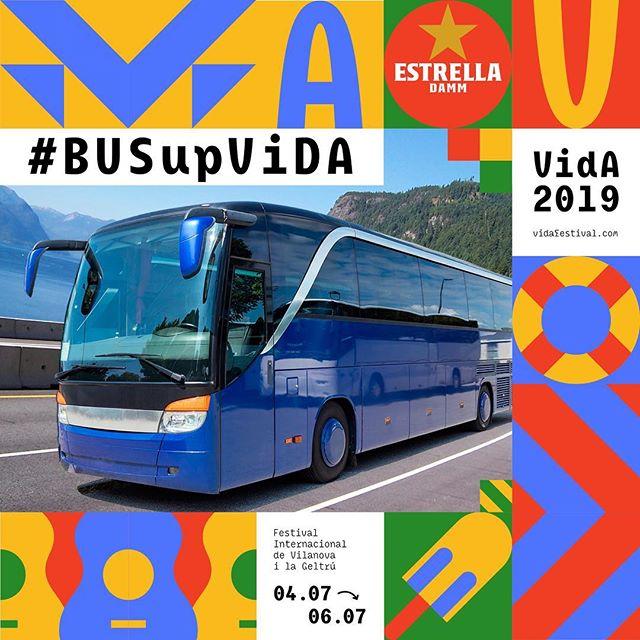 Encara no saps com venir al VIDA? 🚍  El #BusUpVida et porta directe a la Masia d'en Cabanyes des de la teva ciutat, i de tornada a casa quan acaba el festival. Perquè t'oblidis del cotxe i de l'aparcament i puguis venir al festival sense preocupacions.  Amb el #BusUpVida el teu viatge serà més fàcil, còmode i econòmic! Troba aquí la teva ruta, i si encara no existeix, també pots proposar-la! #VidaFestival2019  Més info al nostre web.