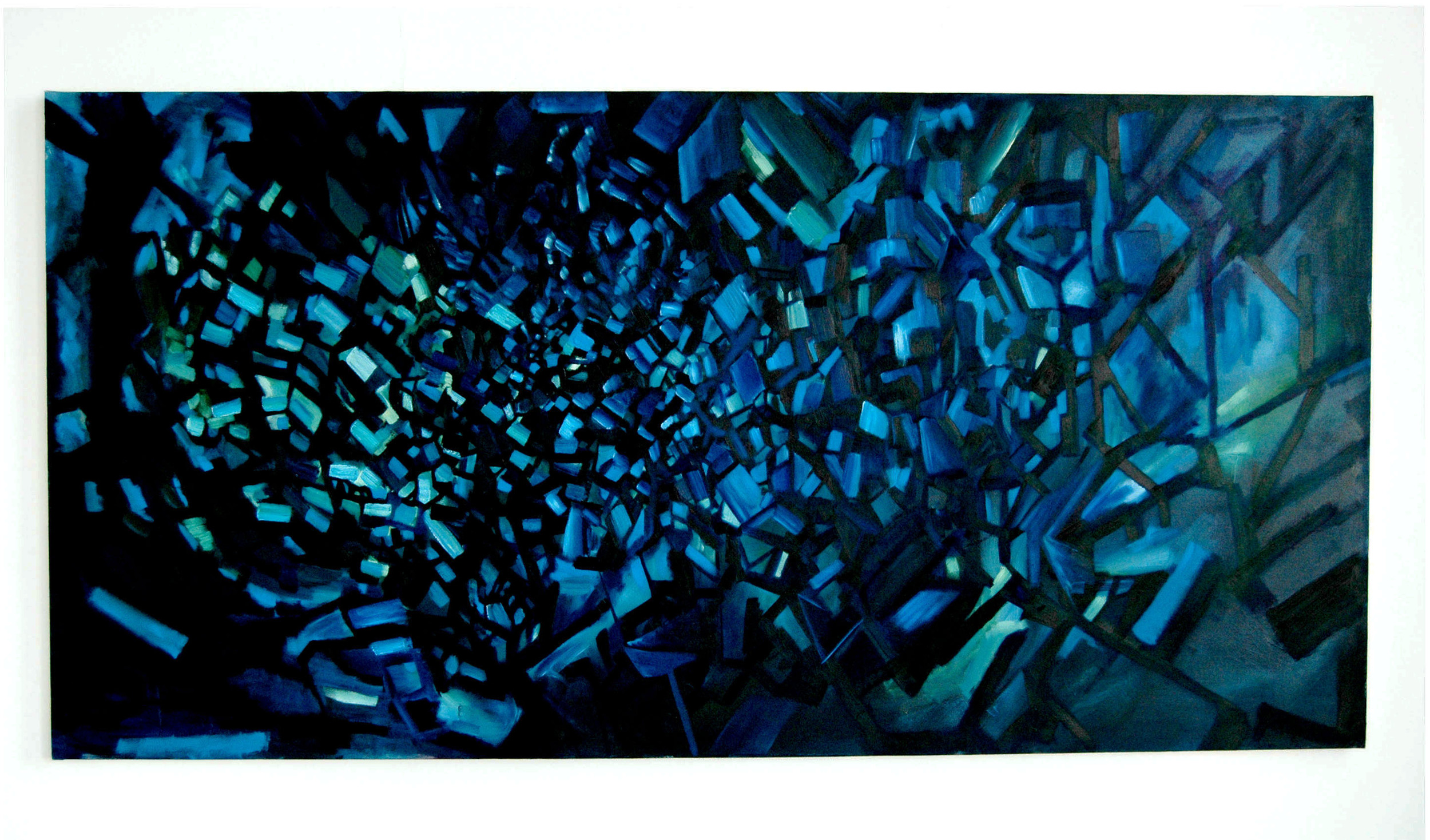 Liminal, painting series, 2010.