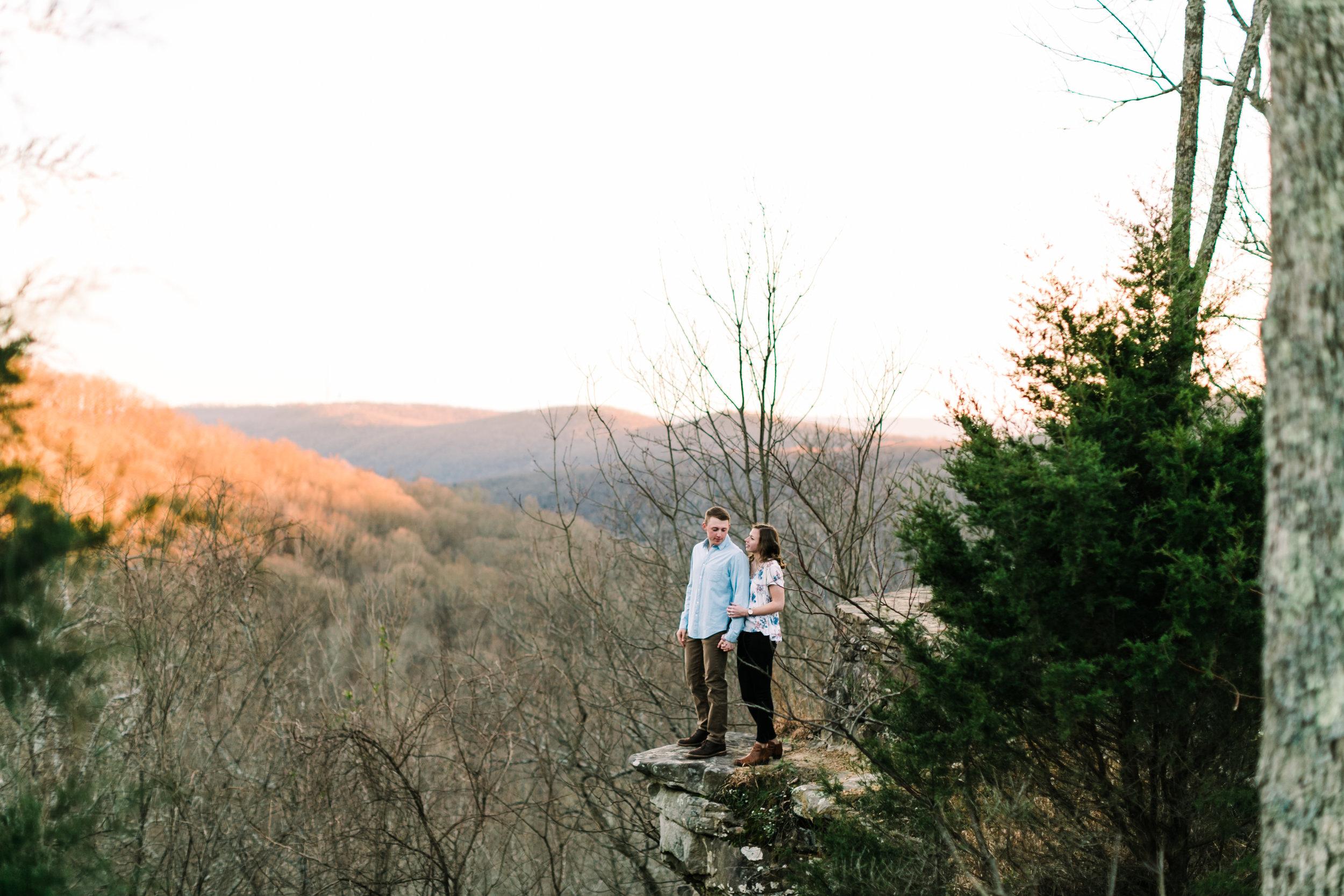 Monte Sano Sunset Spring Engagement Alabama (35 of 45).jpg