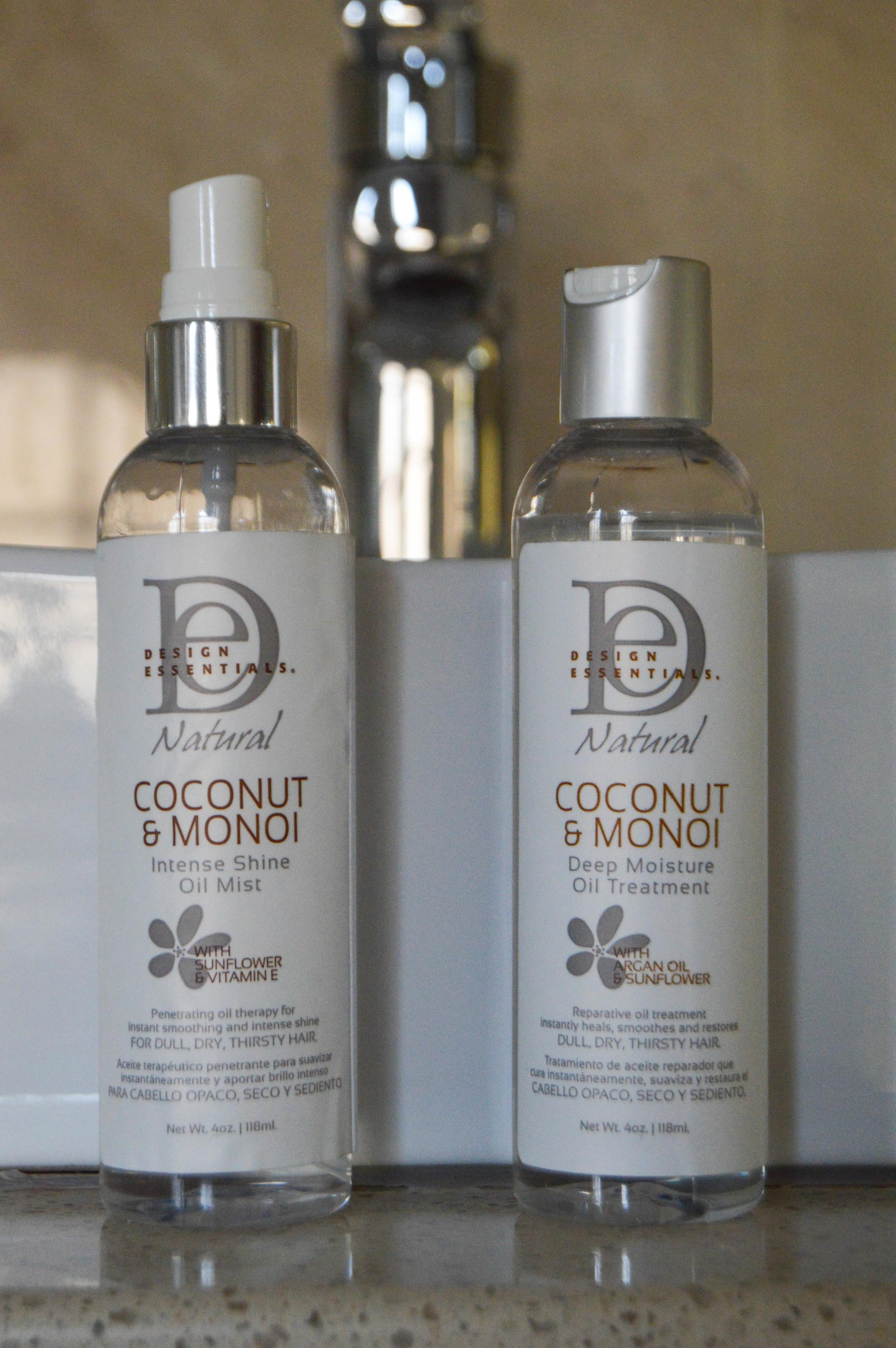 Coconut & Monoi range
