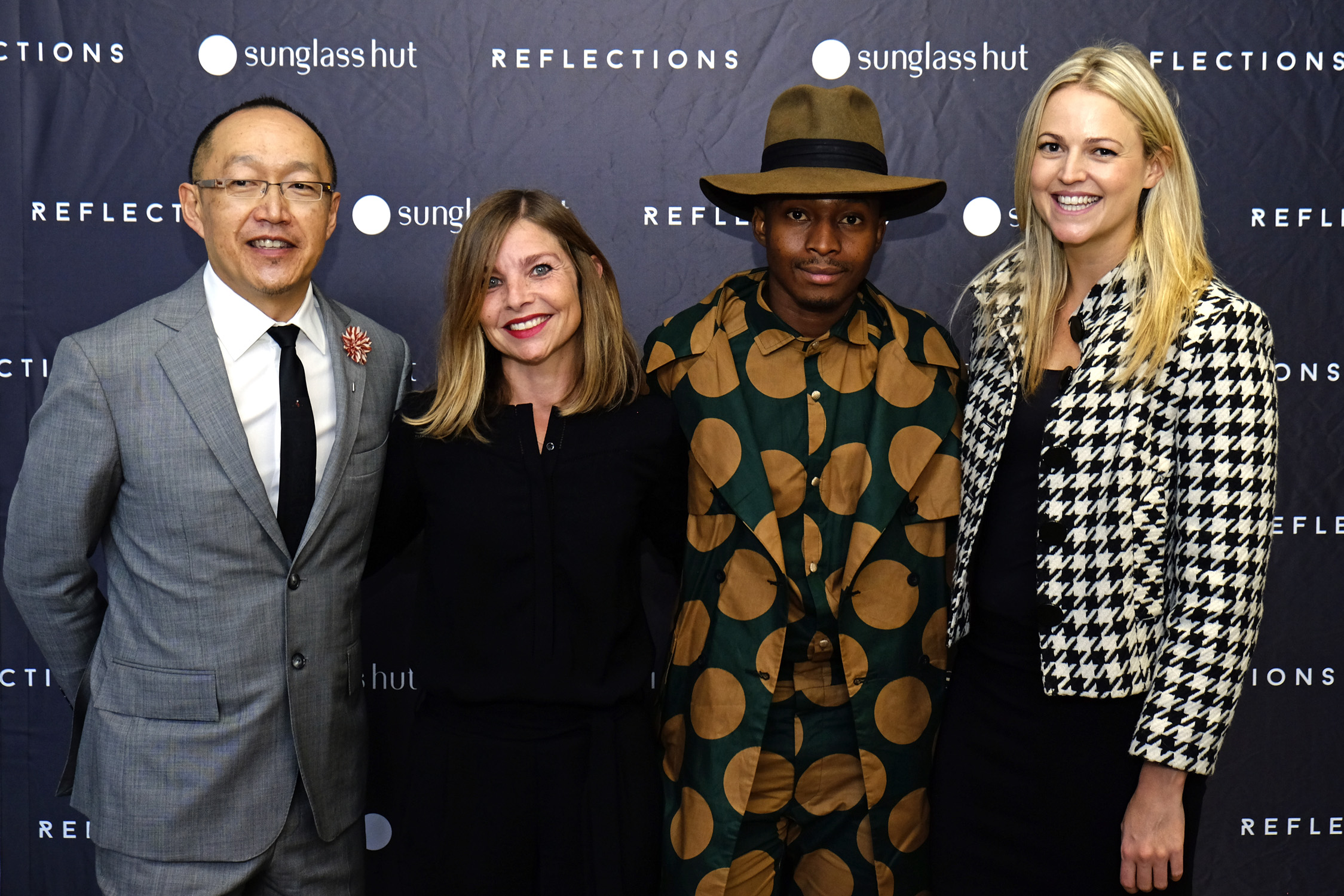 Source: Pressroom - from left to right: Dion Chang, Emilie Gambade, Trevor Stuurman & Emma Sadleir,