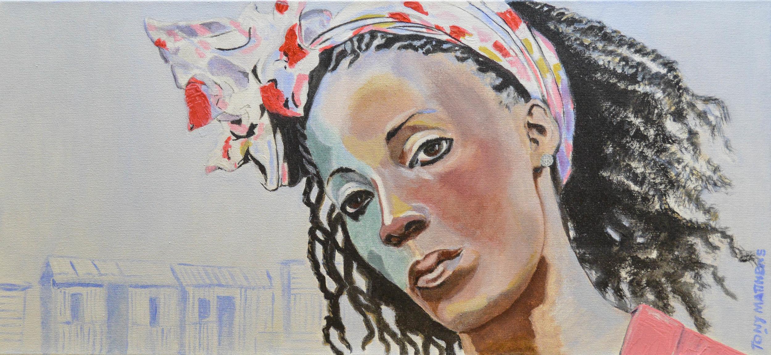 Acrylic painting by Tony Matthews