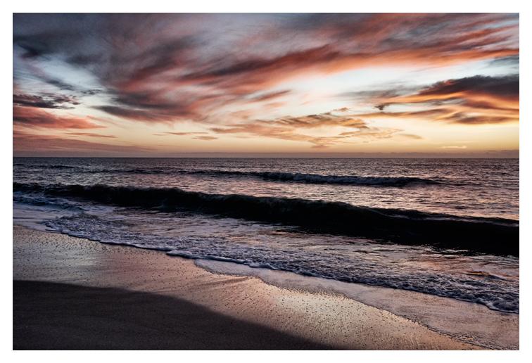 Gulf Shore at Dusk