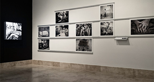 A small section of Harry De Zitter's exhibition at Baker Museum. There are over 100 stunning photographs in total.