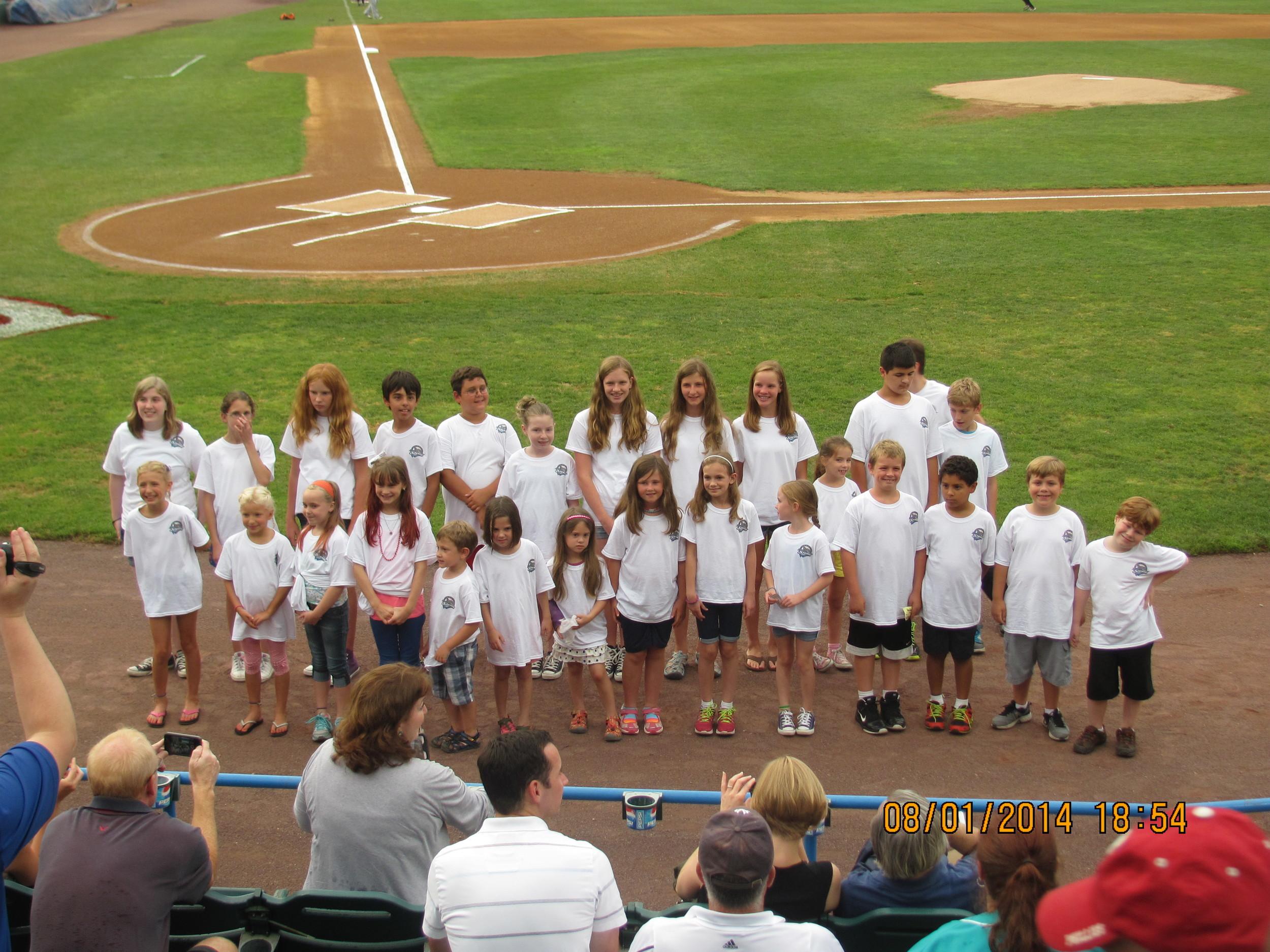 Choir Camp Photo