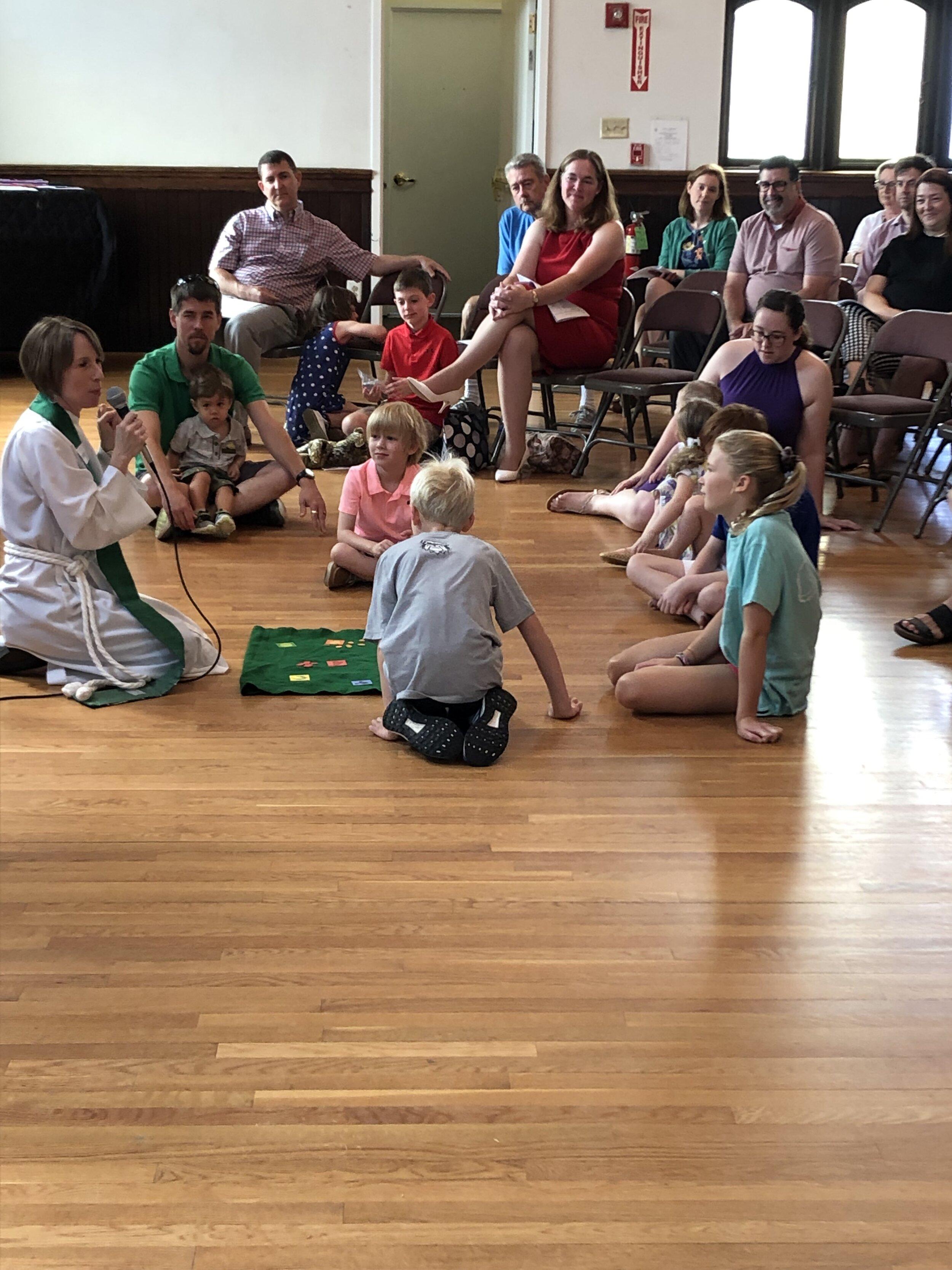 July 2019 Parish House Holy Eucharist