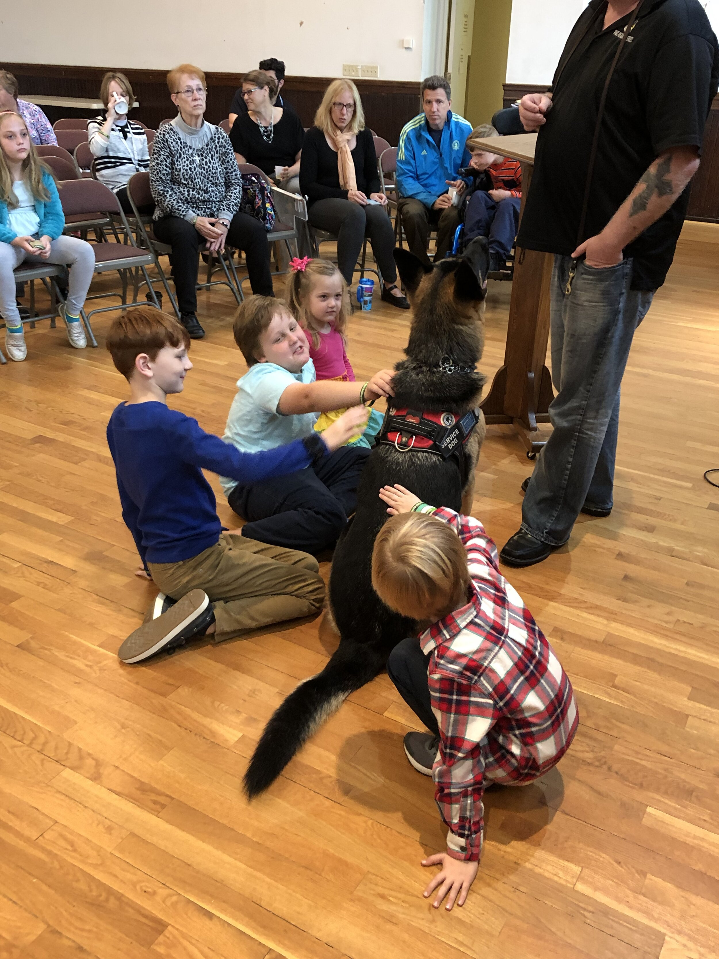 October 2019 InterMISSION with Paws Healing Heroes