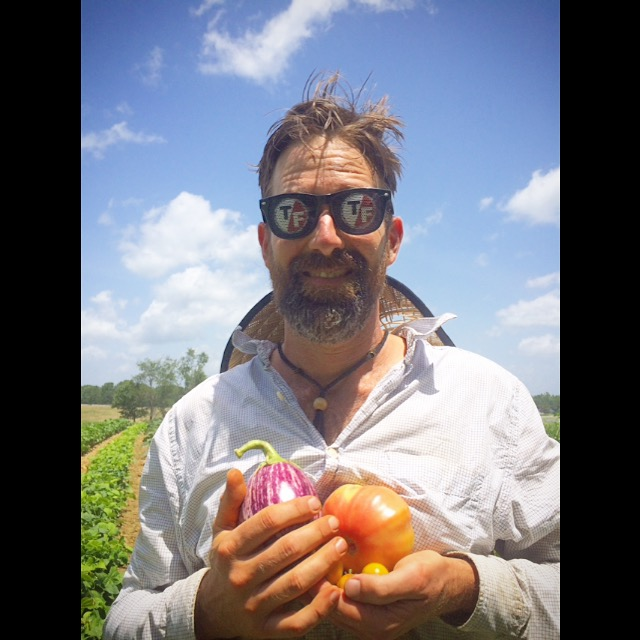 Jesse returns home and with his True False Film Fest Shades on for Harvest last friday!