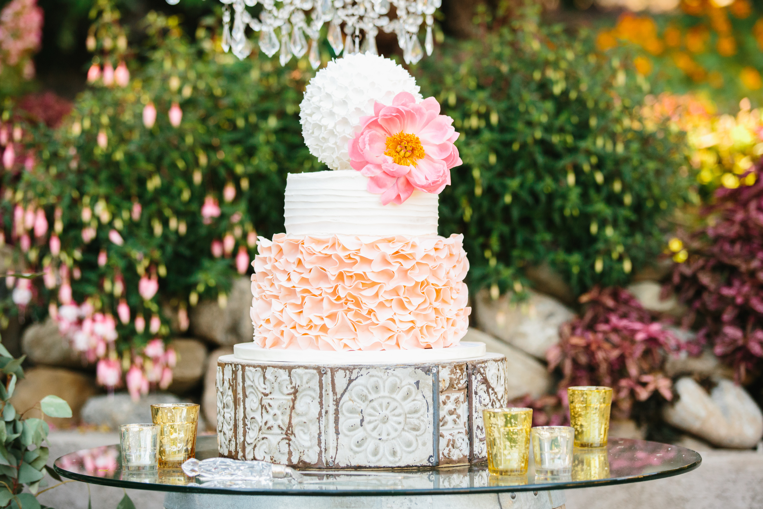 Photo by  Marianne Wilson Photography   and cake by  Frost It Cakery
