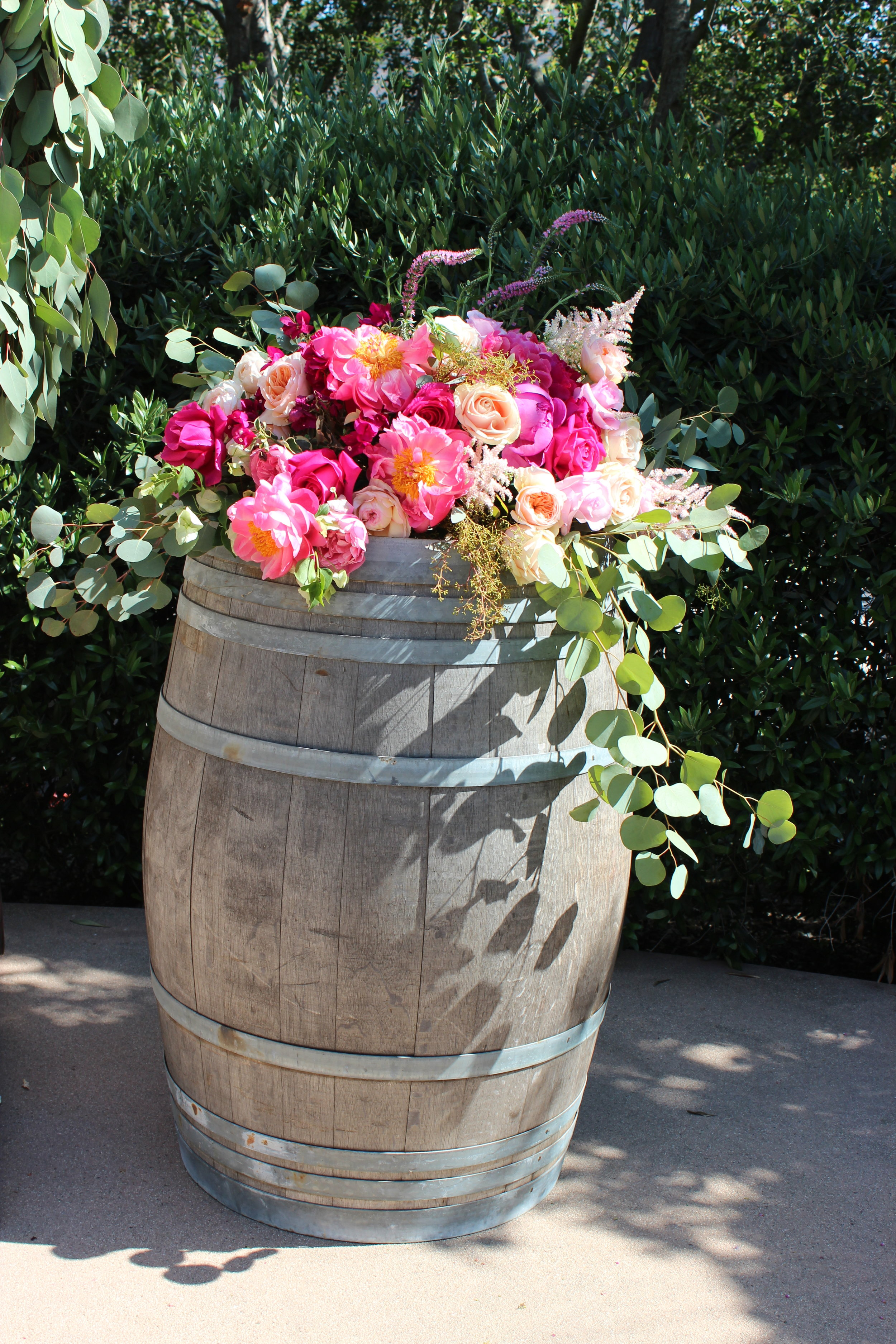 WINE BARRELS - $25 ea.