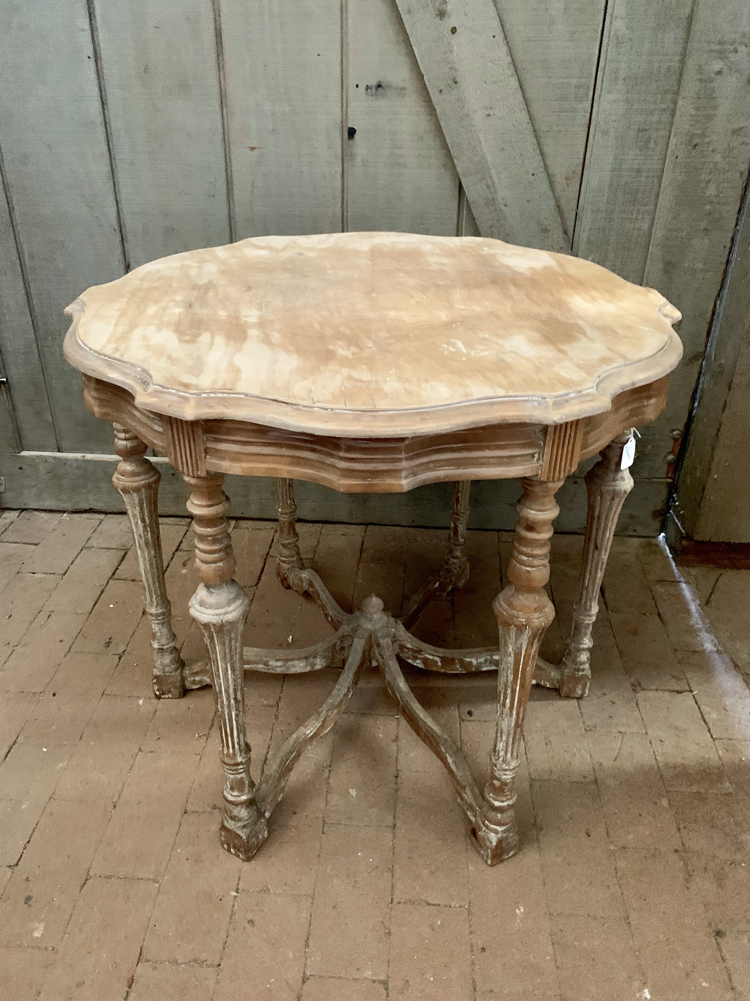 NATURAL ACCENT TABLE - $35