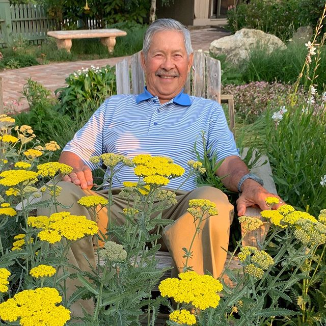 Happy Father's Day to Tony Maravilla, the architect of Maravilla Gardens and my dad. We can always find him surrounded by things that grow.