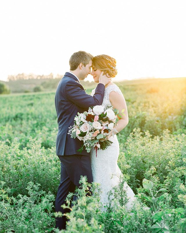 Ahhh. That light in the fields sets a mood. Photo: @rebeccatheresaphotography Floral: @uniquefloraldesigns Catering: @commandperformancecatering DJ: @prismdjs Videography: @erosfilm Dress: @calls blanchedress Bridal Shop: @pebblesbridal MUAH:  @blissbridalbeauty Baker: @mjbcakes Limo: @babylon_limousine Invitations: @minted Bridesmaids: @davidsbridal Menswear: @friartux #wedding #weddingvenue #camarillo #venturacounty #gardenwedding #farmwedding #bride #groom #weddingphotography