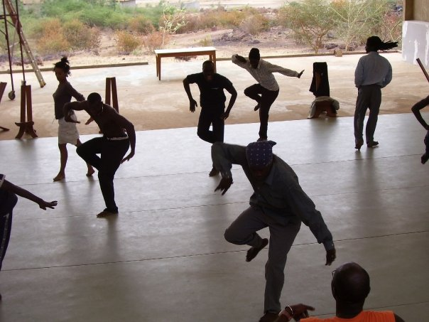 The idea of collaboration cannot be illustrated better than the fluidity in which the dancers of Compagnie Jant-Bi in Toubab Dialaw, Senegal move as they were preparing for their European tour.