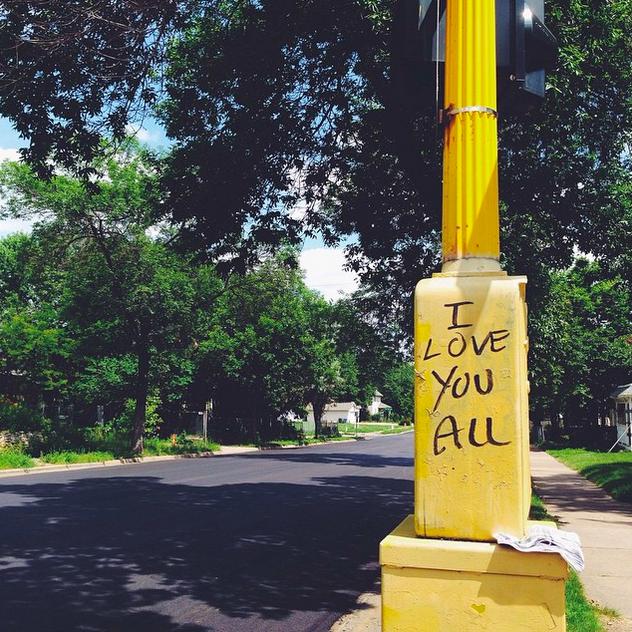 I really do (graffiti from our neighborhood).