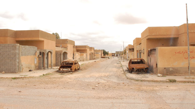 Tawergha, a ghost town. A place of ash.