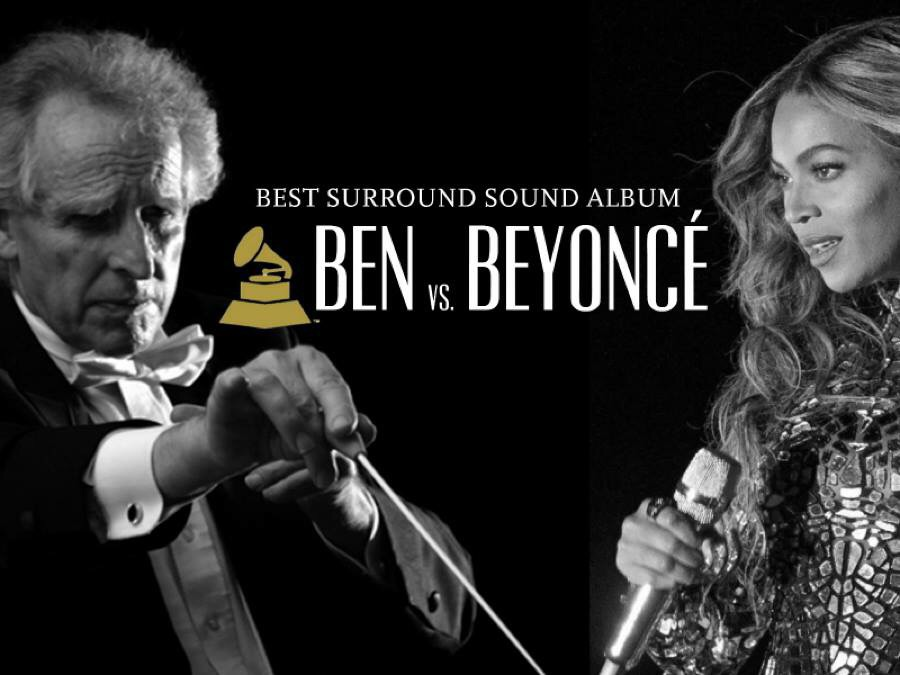 Ben faced off against Beyoncé at the Grammy awards.