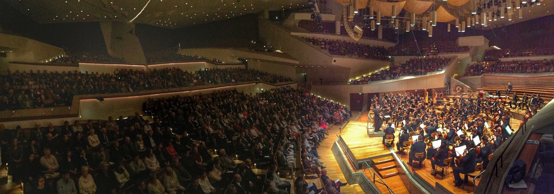 Benjamin Zander and BPYO get a standing ovation in The Berlin Philharmonic Hall.
